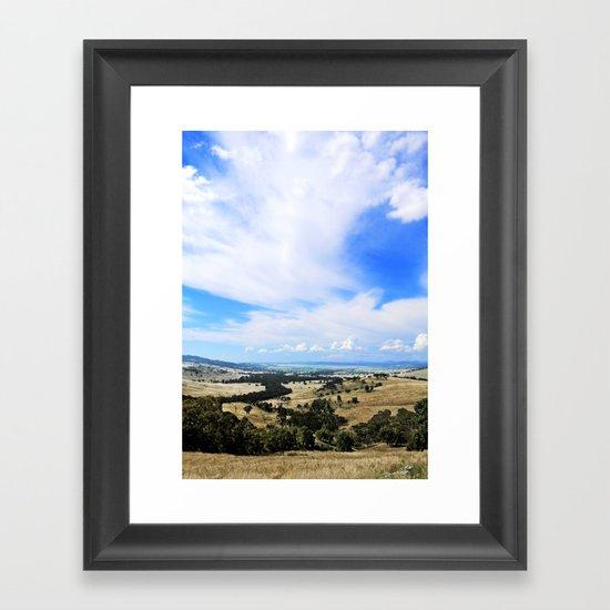 Walkabout Framed Art Print