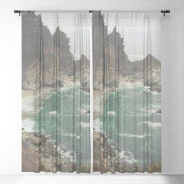 Big Sur - Julia Pfeiffer Sheer Curtain