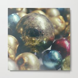 CHRISTMAS PAST Metal Print