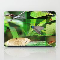 insects iPad Cases featuring Forest Insects  by Andrew Sliwinski
