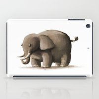 baby elephant iPad Cases featuring Baby Elephant by Broken Arms Games