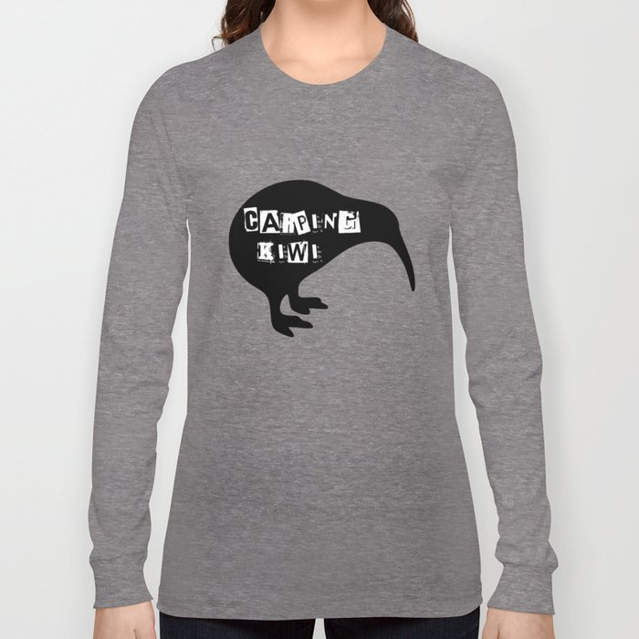 KIWI Carping Kiwi Long Sleeve T-shirt