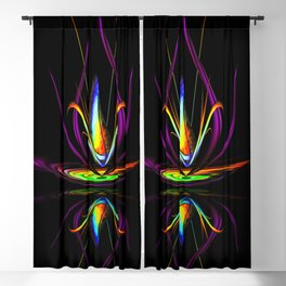 Flowermagic - Light and energy 10 Blackout Curtain