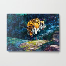 Drinking the Elixer of Life Metal Print