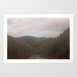 Tennessee Landscape / Six-20 Brownie Junior Art Print