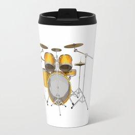 Yellow Drum Kit Travel Mug
