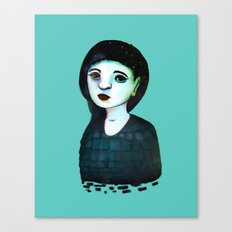 Night Girl III Canvas Print