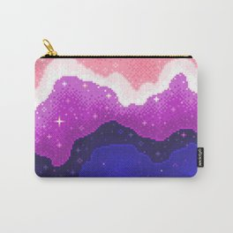 Genderfluid Pride Galaxy Carry-All Pouch