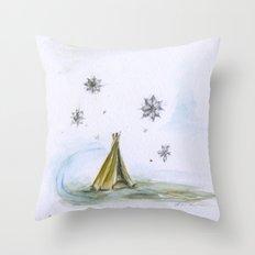 Tent Throw Pillow