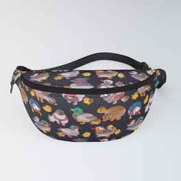 Duck and Duckling - dark Fanny Pack