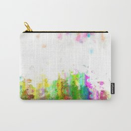 Digital Paint Grunge Carry-All Pouch