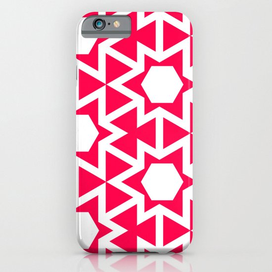 Zoutman Neon Pink Pattern iPhone & iPod Case