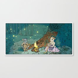 Print No. 2 from Natalie Unseen: The Mouse Queen's Bargain Canvas Print