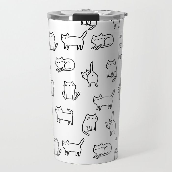 Cats. Cats. Cats Travel Mug