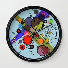Circles 2 Wall Clock