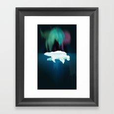 Polar Ice Framed Art Print
