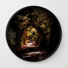 Into Wonderland Wall Clock