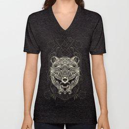 Bear - Nature's Spirit Unisex V-Neck