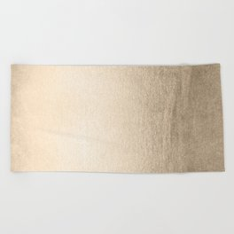 White Gold Sands Beach Towel