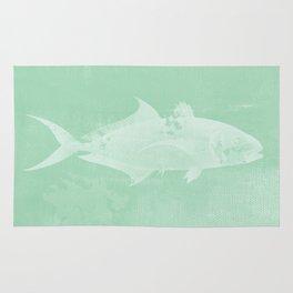 Fishy Fishy   Seafoam Rug