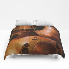 Copper and Whiskey Comforters