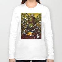 mona lisa Long Sleeve T-shirts featuring #MONA #LISA by JOHNF
