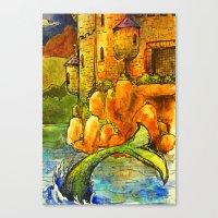 fairytale Canvas Prints featuring Fairytale by SarahLiz