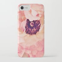 peony iPhone & iPod Cases featuring Peony by Ameliamiller