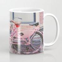 bike Mugs featuring Bike by Hello Twiggs