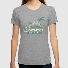 Summer Never Ends gr T-shirt