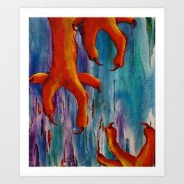 Talons Art Print