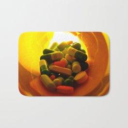 Pills Bath Mat