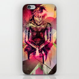 Dissolved Girl iPhone Skin