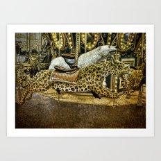 Carousel of the Wild Art Print