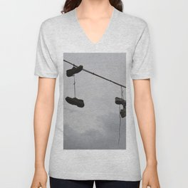 Shoes In The Air Unisex V-Neck