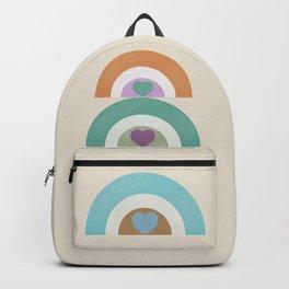 Rainbow Hearts Backpack