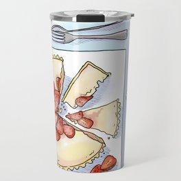 Strawberry Cheesecake Tart Travel Mug