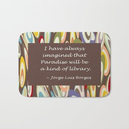 Paradise - The Library Bath Mat
