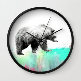 Wild No. 1 // Bear Wall Clock