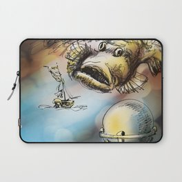 Dangerous Meetings Laptop Sleeve