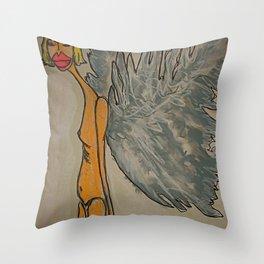 Sophia, The Angel of Trust Throw Pillow
