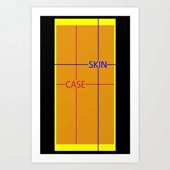 Test Phone Template Art Print