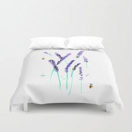Lavender & Bees Duvet Cover
