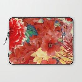 flowers 29 #flora #flowers #pattern Laptop Sleeve