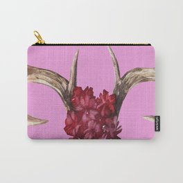 Fearless Vintage Print Pastels Carry-All Pouch