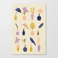 plants Canvas Prints featuring Plants by Sofia Noceti