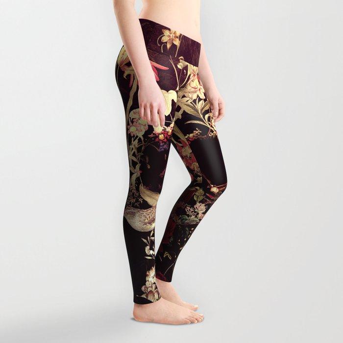 Bloom Skull Leggings