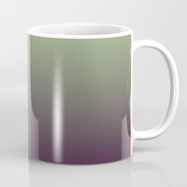 Modern mint green purple ombre pattern Coffee Mug