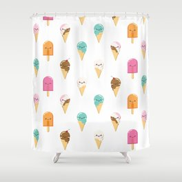 Summer Delights Shower Curtain