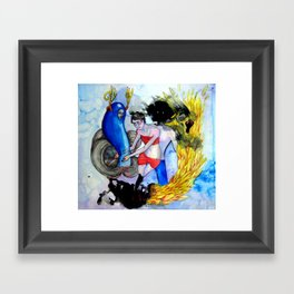 Acquiesce (The Nightmare) Framed Art Print